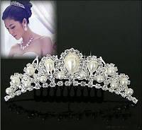 Диадема, свадебное украшение для невесты