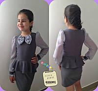 Платье детское школьное 633 (09)