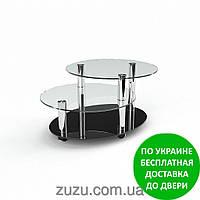 """Стол журнальный стеклянный """"Санни"""". Разные раскраски"""