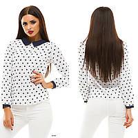 Блузка женская с длинным рукавом 123 Жан