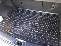Коврик в багажник NISSAN Qashqai с 2014 г. (Автогум AVTO-GUMM) пластик+резина