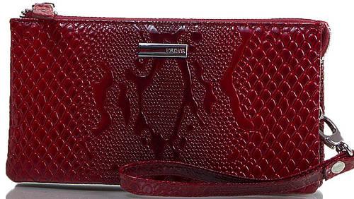 Яркий женский кошелек из натуральной кожи KARYA (КАРИЯ) SHI1075-019 красный