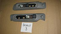 Планка регулировочная ремня безопасности Фиат Добло / Fiat Doblo 2008