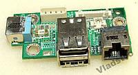 Плата разъема питания USB Acer 8200 8210 DA0ZC1TBA
