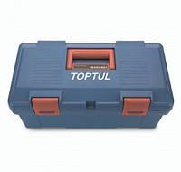 Ящик для инструмента Toptul TBAE0301, 3 секции (пластик), 445(L)x240(W)x202(H)mm (TBAE0301)