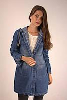 Кардиган джинсовый з капюшоном, фото 1
