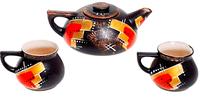 Чайный набор 3 предмета Абстракция  .