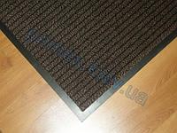 """Ковер влагопоглощающий 40х60см., темно-коричневый, """"Полоска"""". Придверный коврик купить"""