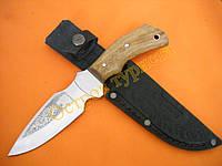 Нож охотничий Клык ножны кожа документы