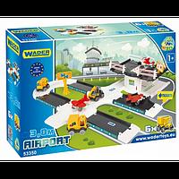 Игровой набор Wader Kid Cars 3D аэропорт 53350