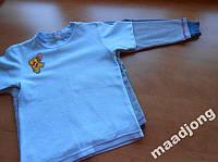 Пижамные кофты мальчику, 3 шт, 4-6 лет