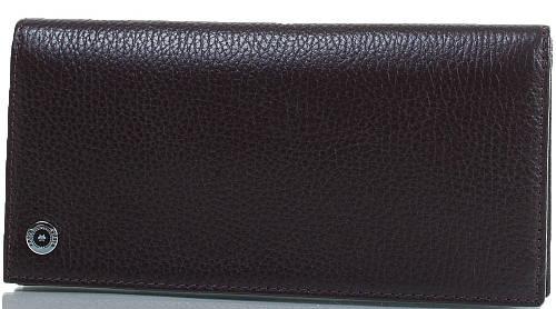 Стильный мужской кошелек из натуральной кожи KARYA (КАРИЯ) SHI1097-39FL черный