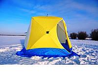 Трехместная  палатка для зимней рыбалки CTEK-КУБ 3 (призма)