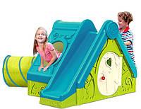 Домик, горка, тунель XXL 3 в 1 для детей