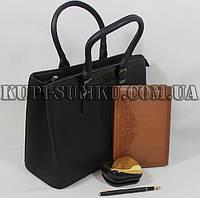 Классическая каркасная стильная сумка для деловой леди