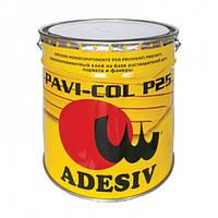 Клей для паркета и фанеры однокомпонентный каучуковый PAVI-COL P25. Adesiv. Италия )