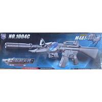 Пистолет с глушителем и гелевыми пульками, аккумулятор