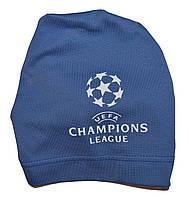 Шапка детская на мальчика UEFA, фото 1