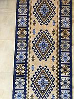 Тканий гуцульськй килим шерстяний 150*60 см