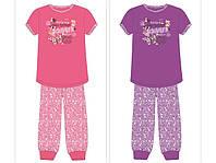 Пижама для девочки (футболка+капри)