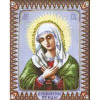 Набор для вышивки Чарівна Мить 400ч Икона Божией Матери Умиление