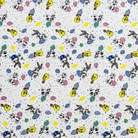 Ткань Фланель детская ПАК Арт. 133826 Б/З рис 218 в МЕЛКИЙ, Ш 180СМ