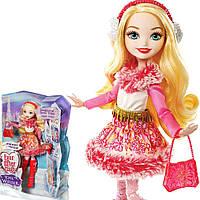 Кукла Ever After high Apple White Epic Winter Matte Эппл Вайт Эпическая зима