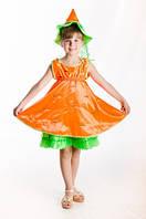 Морковка новогодний костюм для девочки