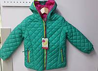 Куртка детская демисезонная для девочек.ТМ Glo-Story Венгрия  Рост 92/98  116/122