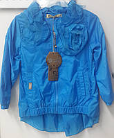Куртка ветровка детская для девочек.104 116 128