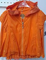 Куртка ветровка - реглан для девочек.110 116 128