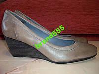 Кожаные фирменные туфли 5 Avenu 38.5-39 р