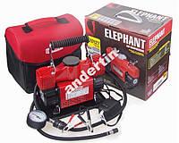Автомобильный компрессор ELEPHANT КА-20127 2 цилиндра