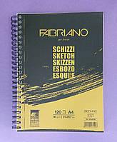 Скетчбук (Блокнот для эскизов) Sсhizzi Fabriano А4