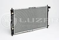 Радиатор охлаждения Ланос 1,5-1,6 (АКПП) с кондиционером ЛУЗАР (алюминиевый паяный)