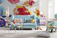 KOMAR 8NW-917 Passion ФЛИЗЕЛИНОВЫЕ фотообои на стену «Страсть. Цветочная композиция»