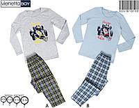 Пижама для мальчика трикотажная с длинным рукавом.