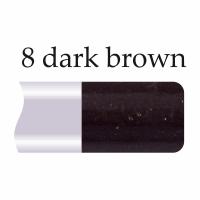Механический карандаш для губ и глаз Alex Horse APN-100 №08 Dark Brown