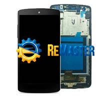 Дисплей LCD + сенсор + рамка LG GOOGLE NEXUS 5 D821 D820 BLACK