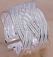 Кольцо Стелла Скай, покр 925 серебро, безразмерное