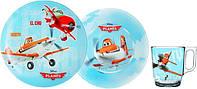 Детский набор посуды LUMINARC DISNEY  PLANES 3 пр (J0804)