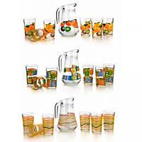 Набор для напитков Banquet. Кувшин 1,5л и 6 стаканов 210 мл