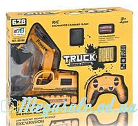 """Экскаватор на радиоуправлении """"Truck Super Power"""": аккумулятор + свет/звук"""