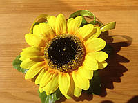 """Заколка для волос """"Солнечный цветок"""""""