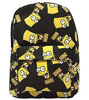 Рюкзак с желтым принтом РМ6469
