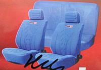 Чехлы на сиденья R-0362712B синие