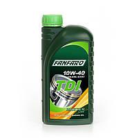 Масло моторное Fanfaro 10W-40 TDI полусинтетическое 1л