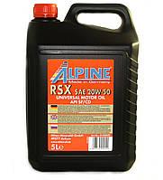 Масло моторное Alpine RSX 20W-50 минеральное 5л