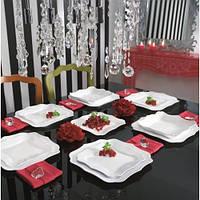 Столовый сервиз Сервиз Luminarc Authentic White E6197 19 предметов