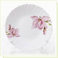 "Тарелка O 22,5см ""Орхидея"" стеклокерамика MR-30950-03"
